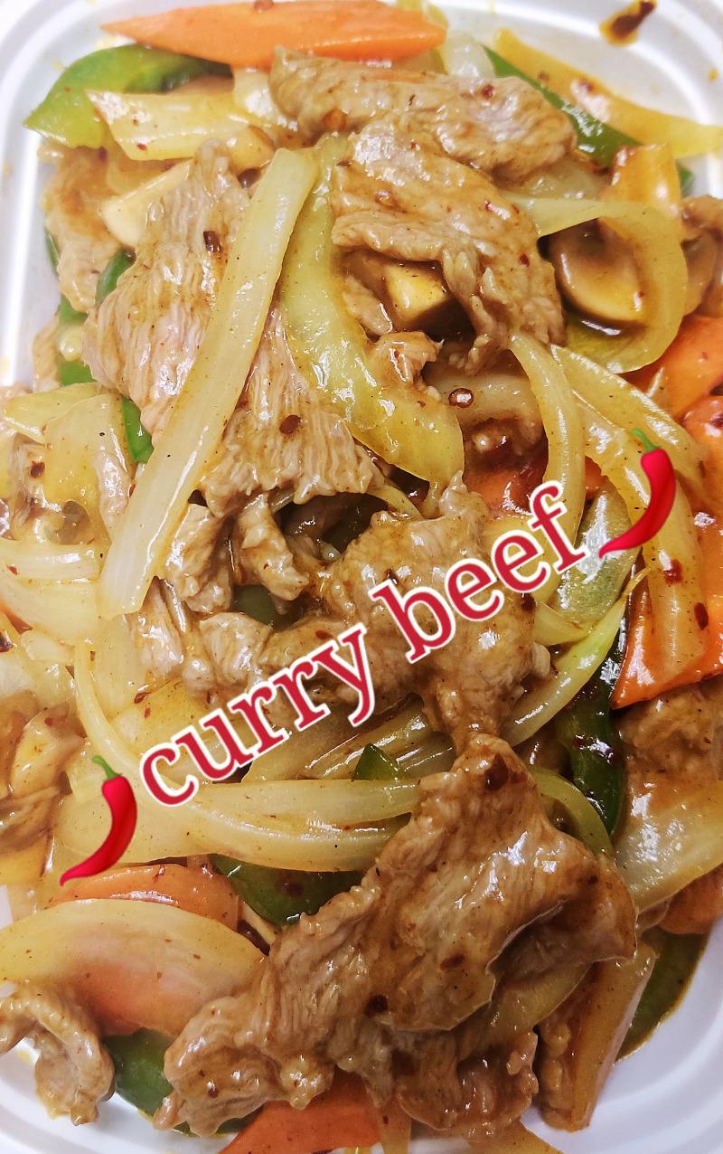 咖喱牛 93. Curry Beef