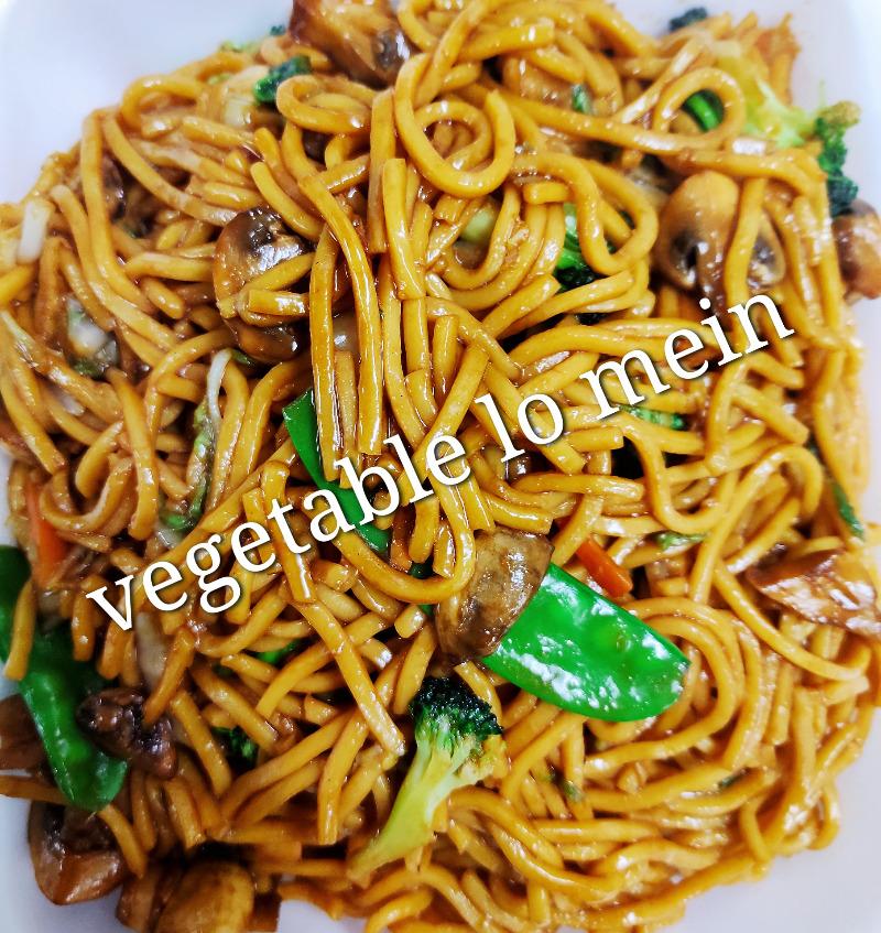 菜捞面 41. Vegetable Lo Mein Image