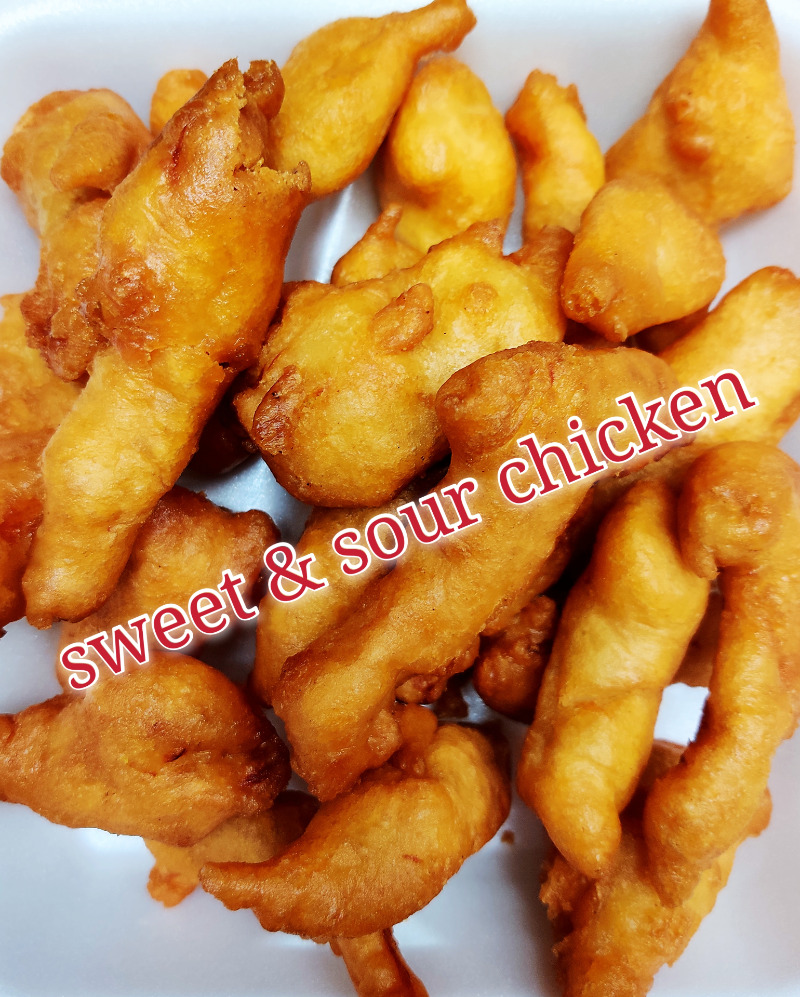 甜酸鸡 55. Sweet & Sour Chicken