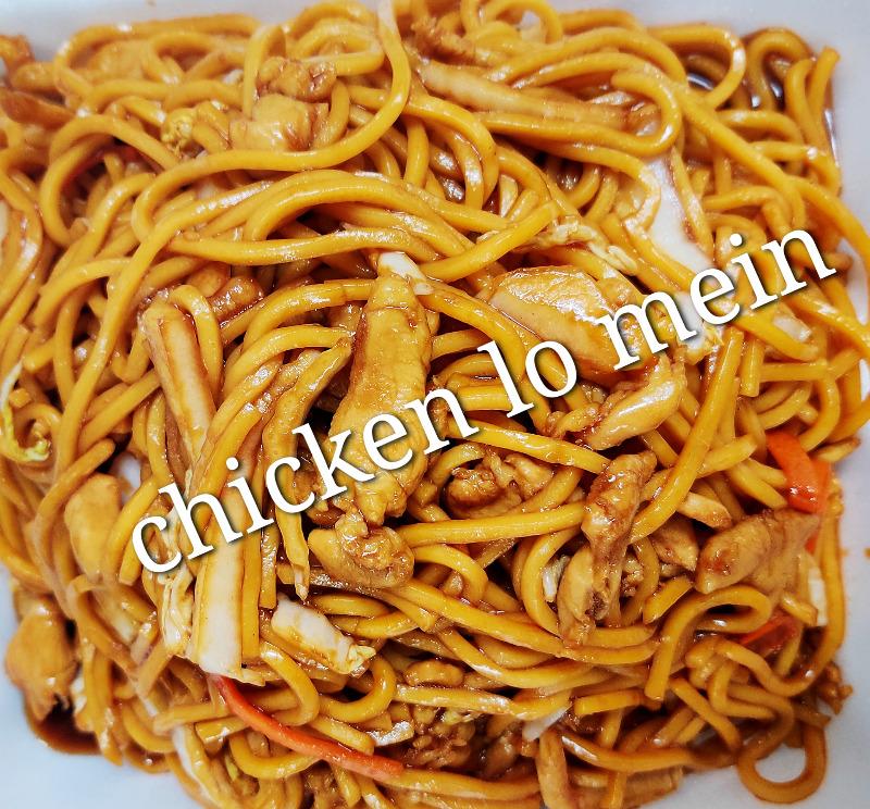 鸡捞面 L 3. Chicken Lo Mein