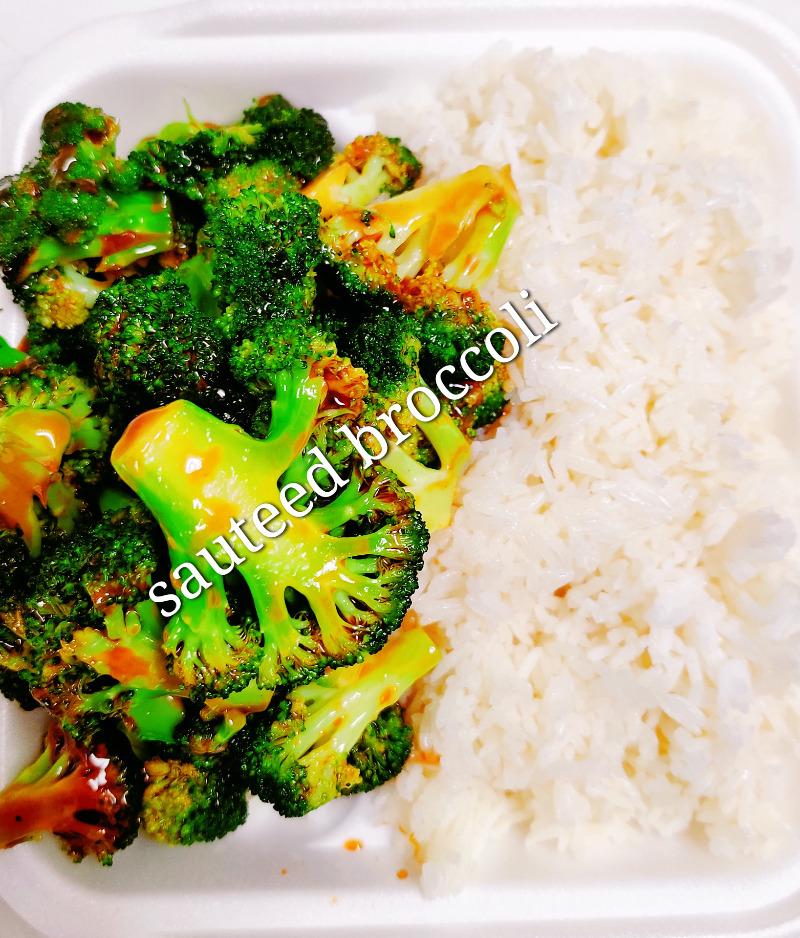 蒸芥兰 59. Sauteed Broccoli