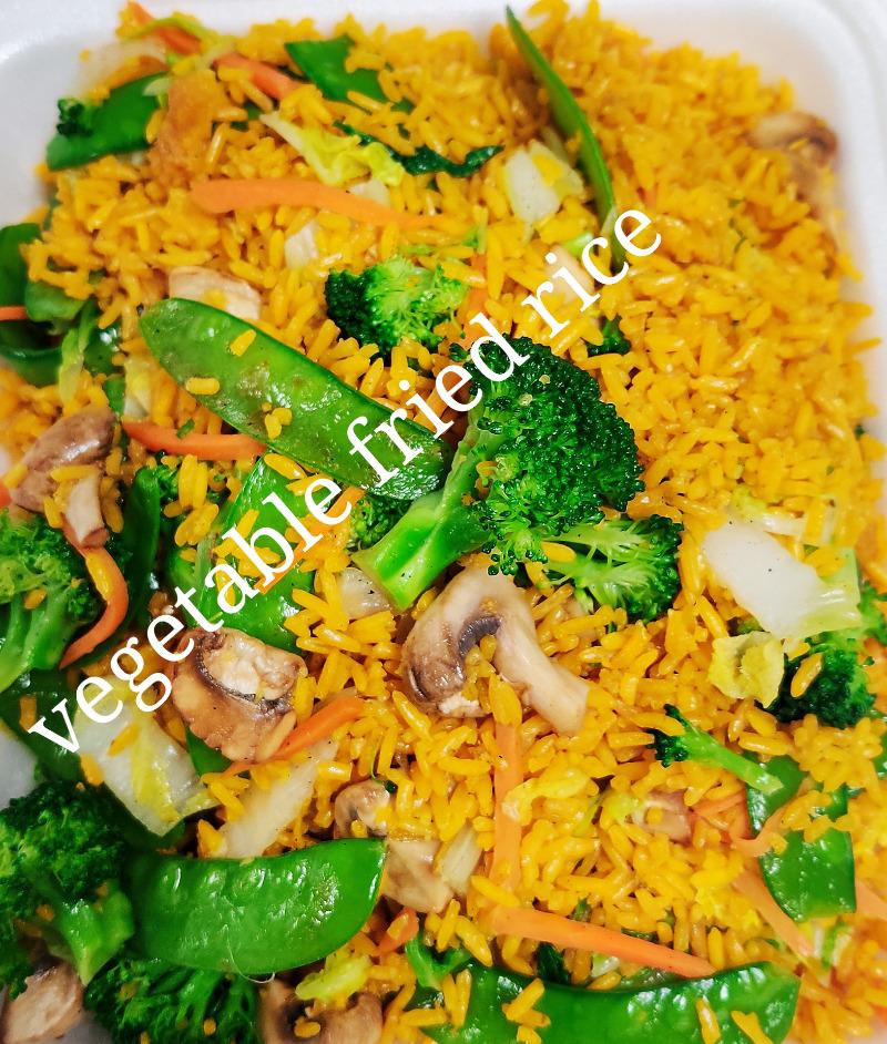 素菜炒饭 25. Vegetable Fried Rice Image