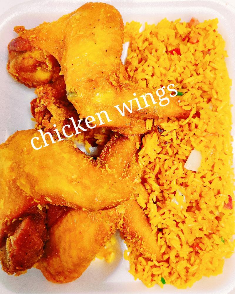 炸鸡翼 2. Fried Chicken Wings (4)