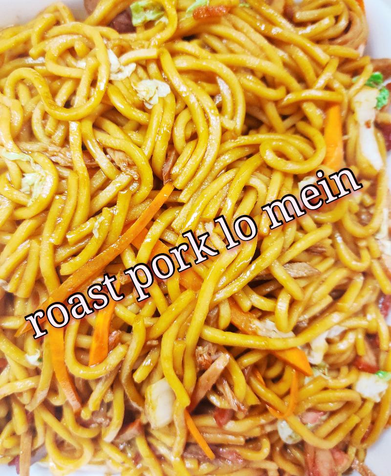 叉烧捞面 38. Roast Pork Lo Mein
