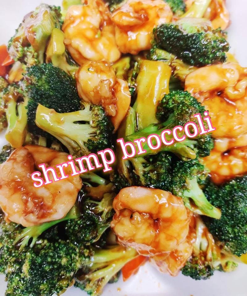 芥兰鸡 4. Chicken w. Broccoli