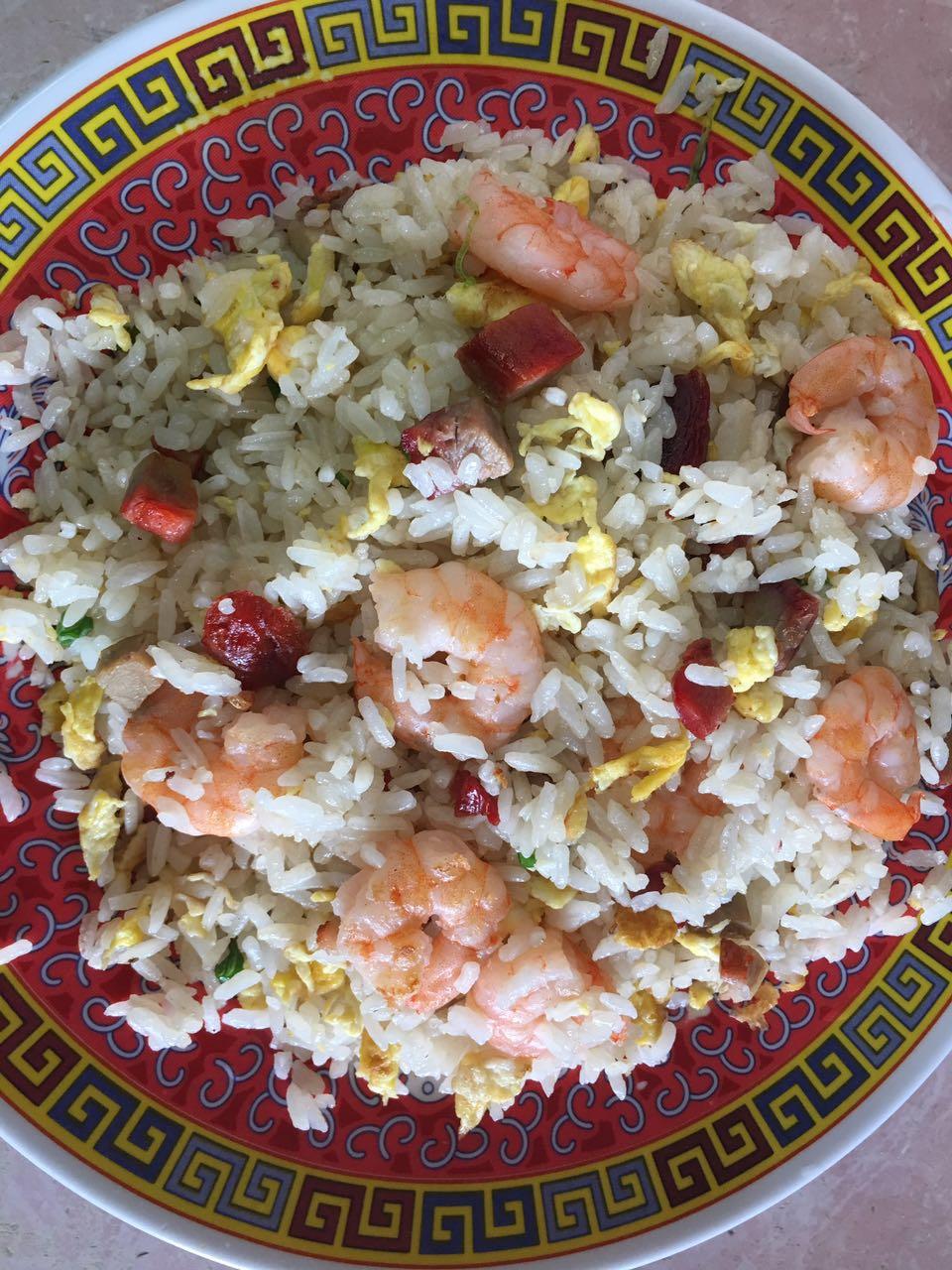27. Fresh Shrimp Fried Rice