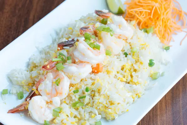 Fried jasmine rice Image