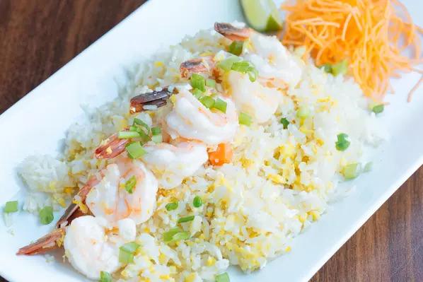 Fried jasmine rice Image