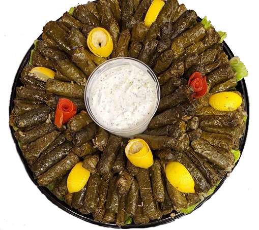 Grape Leaves Tray Image