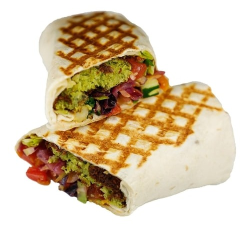 Spicy Falafel Panini (No Side) Image