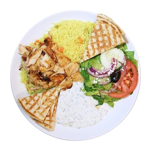 Chicken Rice Platter Image
