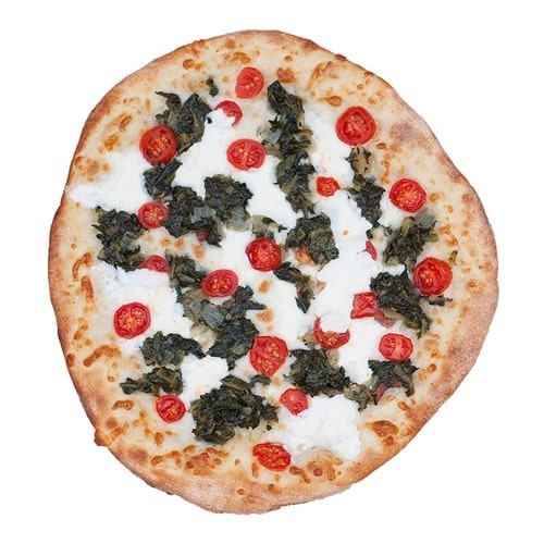 Spinach & Cheese Flatbread Image