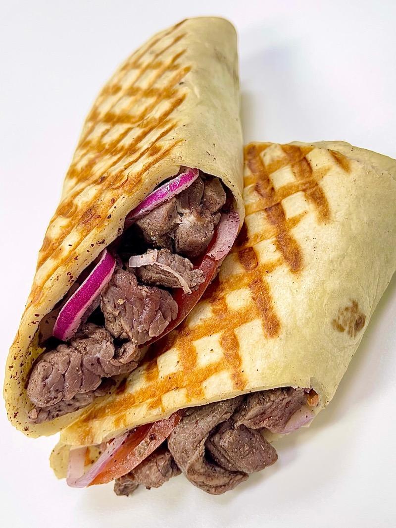 Steak Shawarma Panini Image