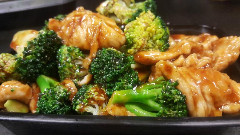 76. 芥蓝鸡 Chicken w. Broccoli Image