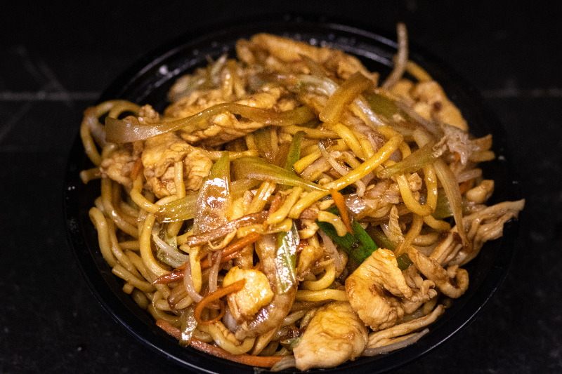 32. 鸡捞面 Chicken Lo Mein