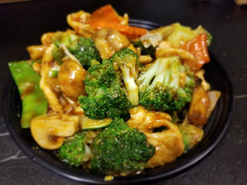 77. 什菜鸡 Chicken w. Mixed Vegetable Image