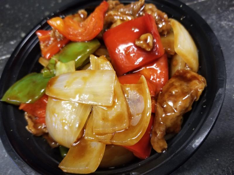 105. 青椒牛 Pepper Steak Image