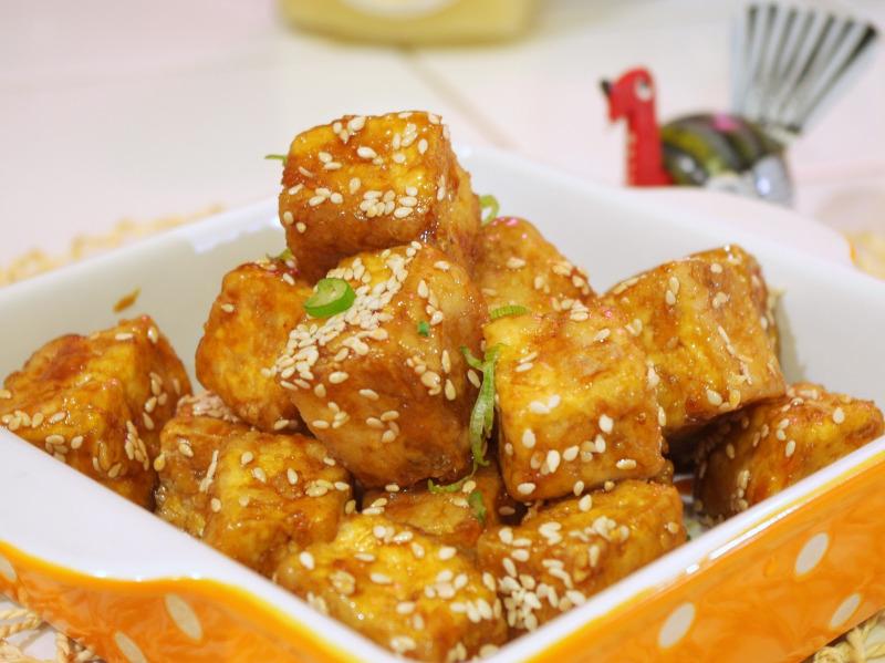 74. 芝麻豆腐 Sesame Tofu
