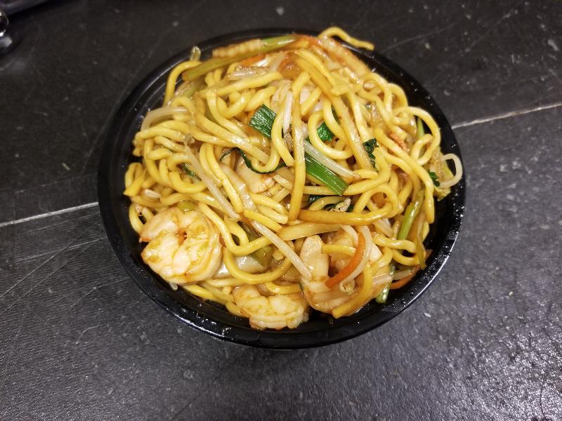 35. 虾捞面 Shrimp Lo Mein