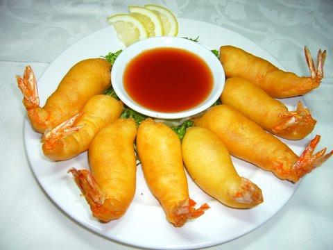 116. 酸甜虾 Sweet & Sour Shrimp Image