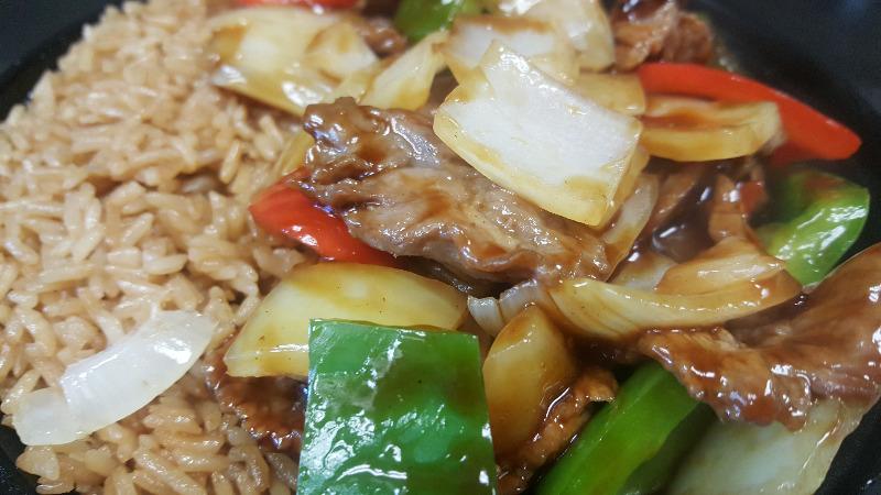 C16. 青椒牛 Pepper Steak