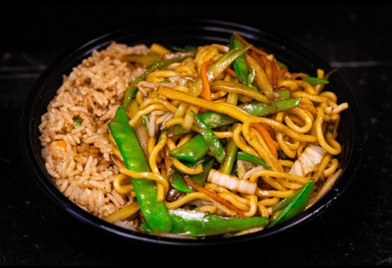 L 2. 菜捞面 Vegetable Lo Mein Image