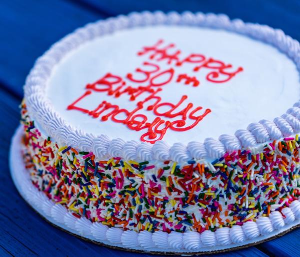 Custom Ice Cream Cake Image