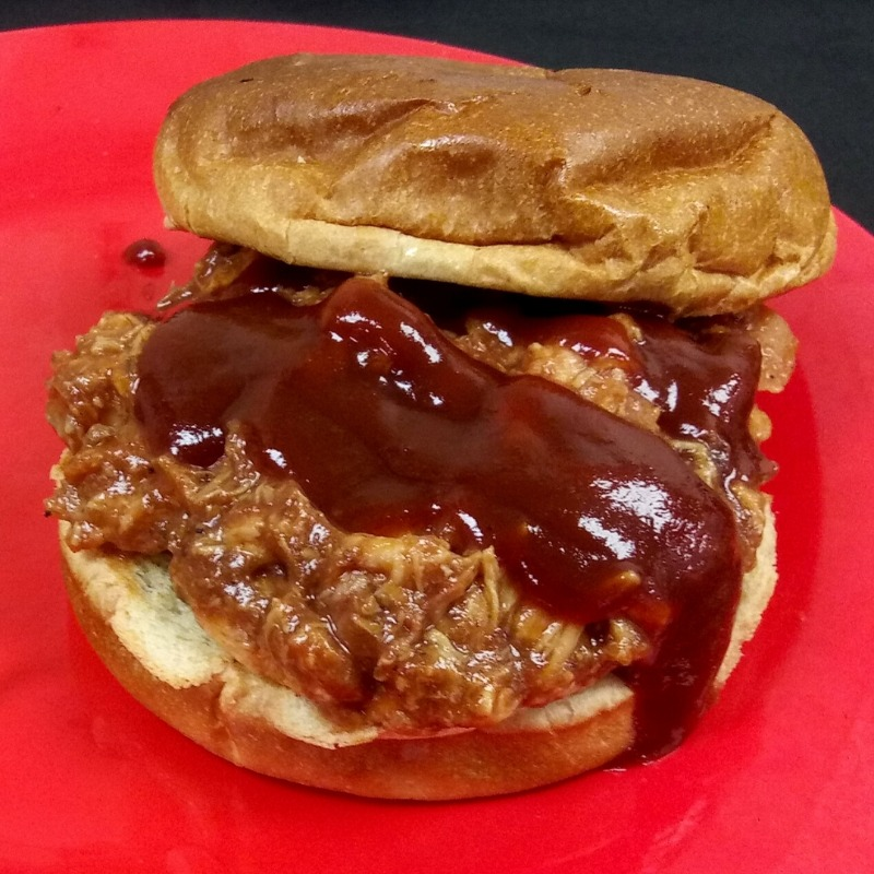 Pulled Pork Sandwich Special Image