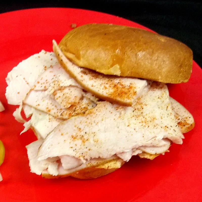 Smoked Turkey Sandwich Image