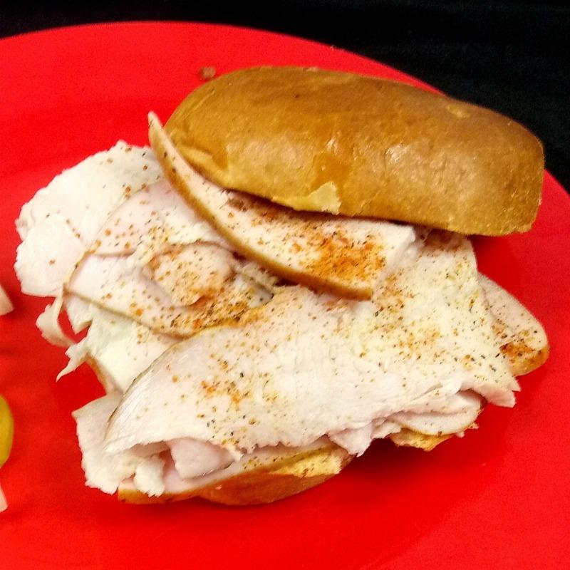 Smoked Turkey Sandwich Image