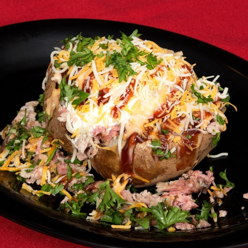 Chopped Pork Potato