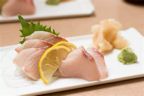 Yellowtail Sashimi Image