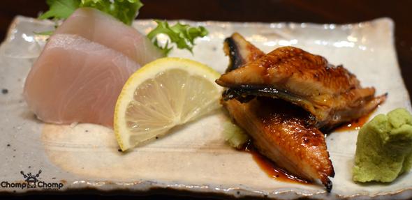Fresh Water Eel Sashimi Image