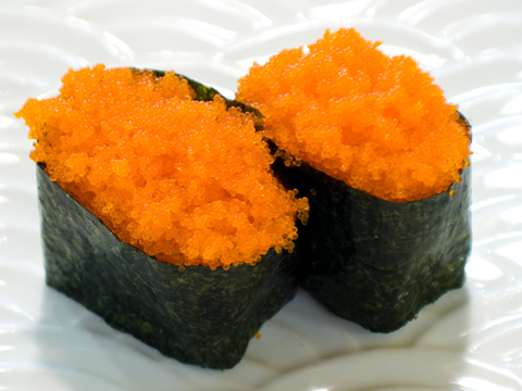 Smelt Egg Nigiri Image