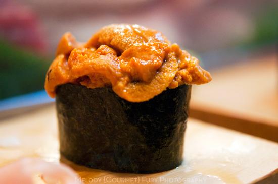 Sea Urchin Nigiri Image