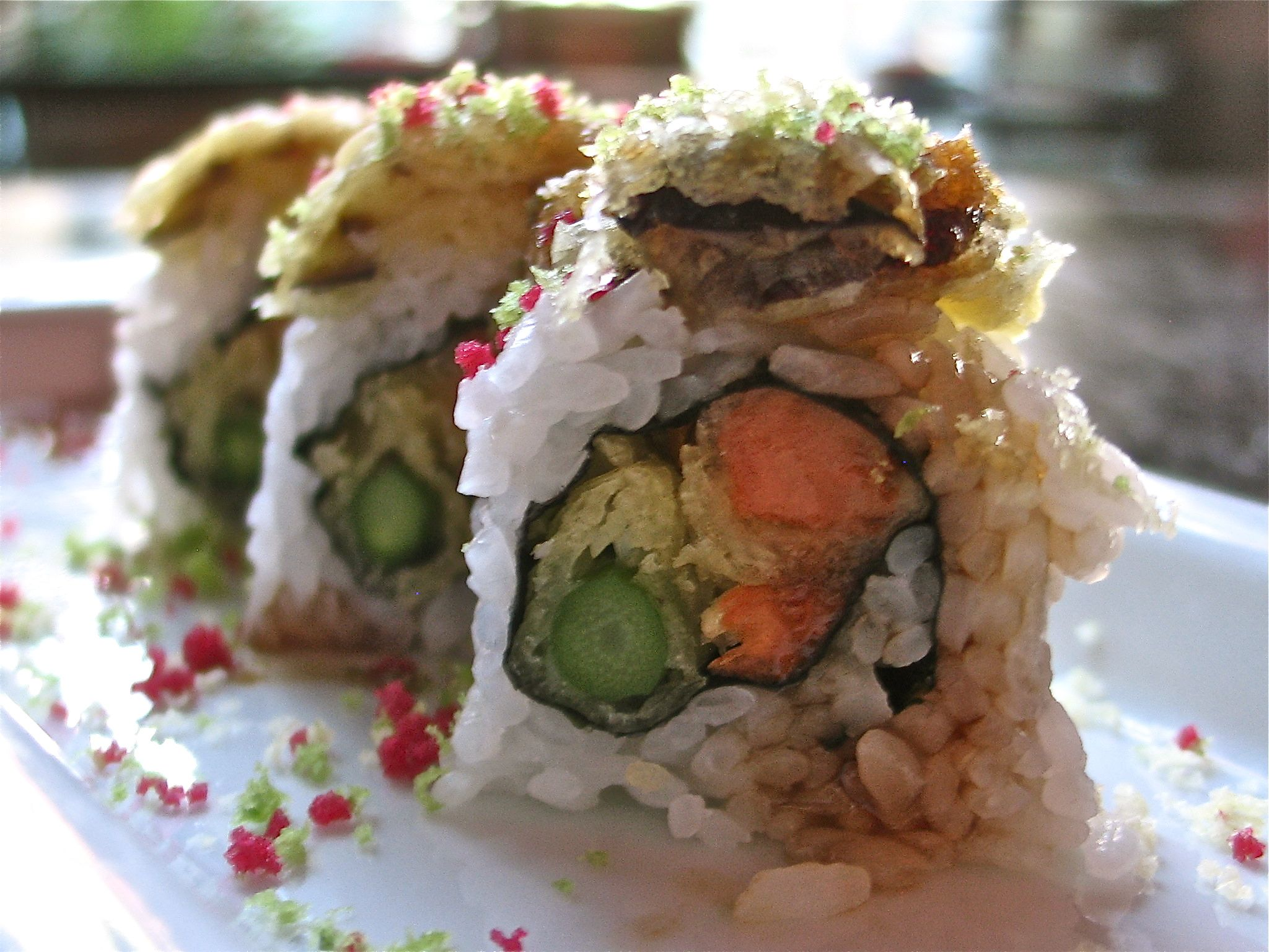 Vegetable Tempura Roll Image