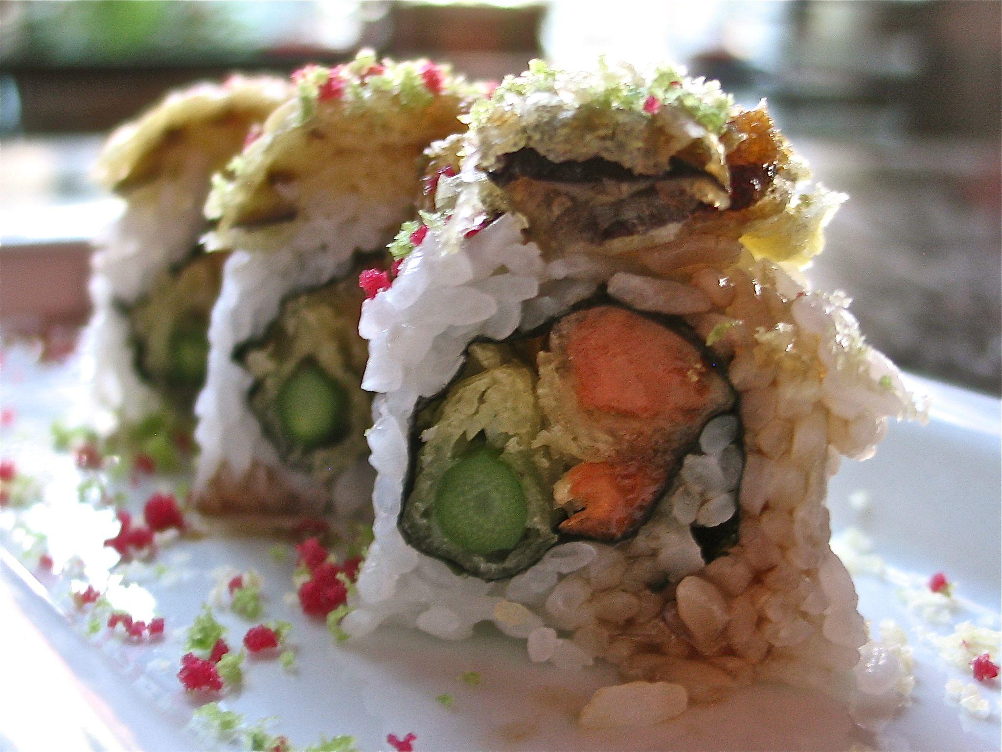 Vegetable Tempura Roll Image