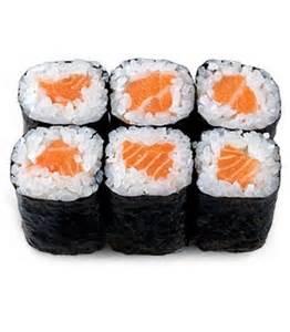 Saki Maki (Salmon) Image