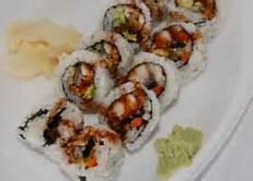 Fresh Water Eel Roll Image