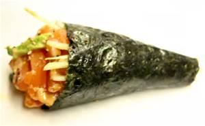 Saki Maki Hand Roll Image