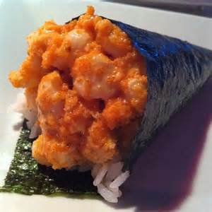 Spicy Scallop Hand Roll Image