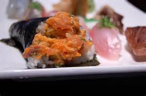Spicy Yellowtail Hand Roll Image
