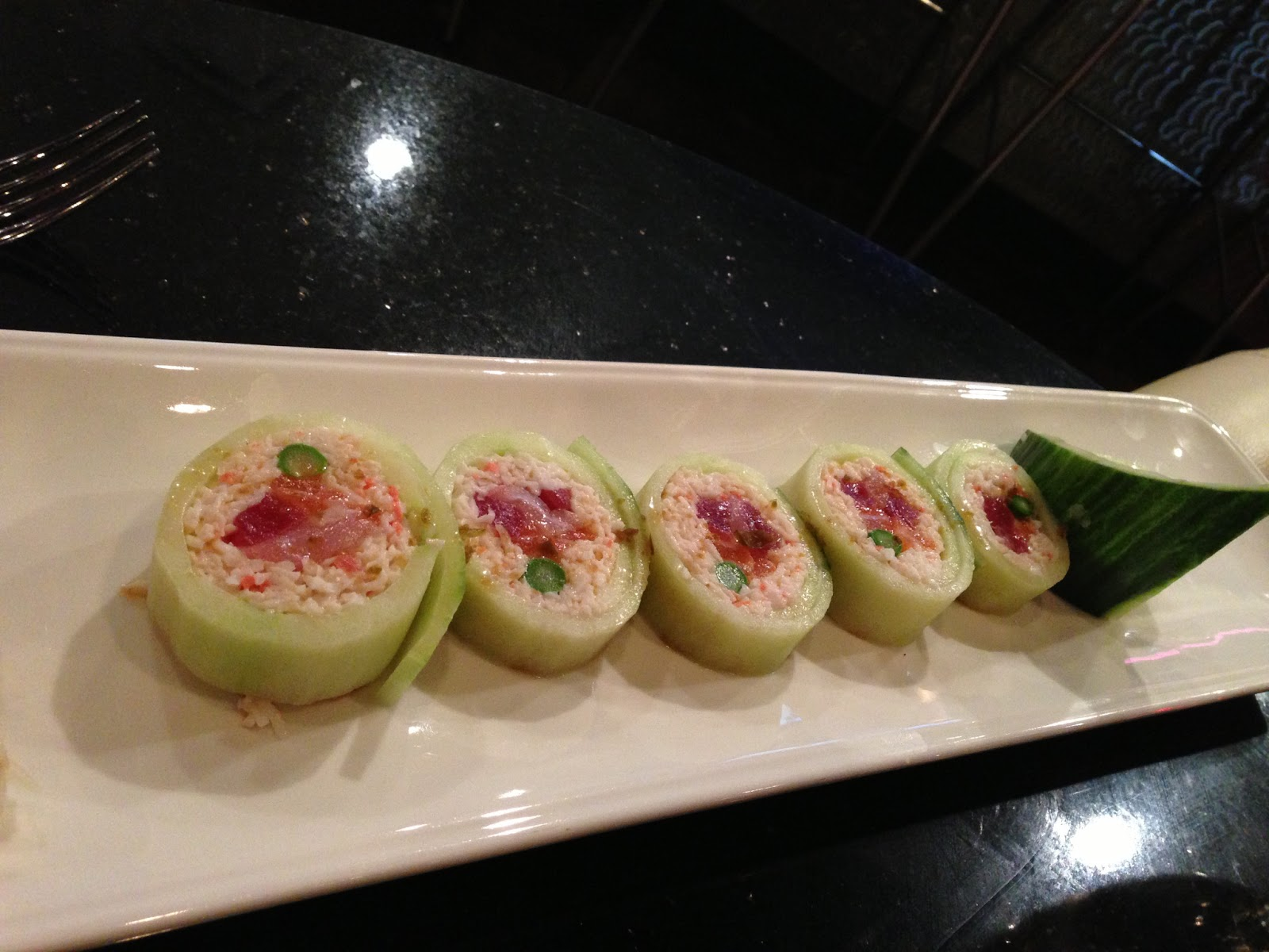 Special Cucumber Roll Image