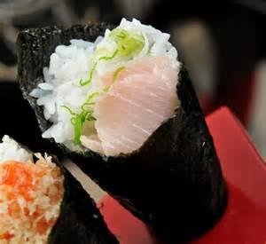 Hamachi Maki Hand Roll