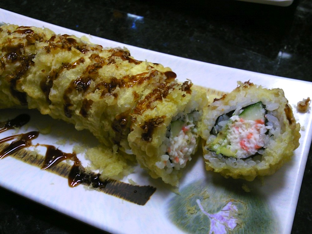 Deep Fried Cali Roll Image