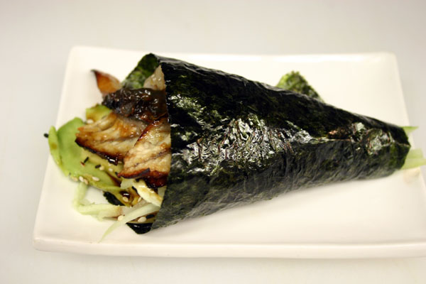 Fresh Water Eel Hand Roll Image