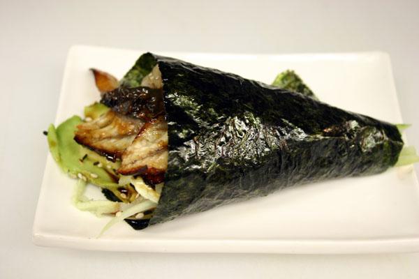 Fresh Water Eel Hand Roll Image