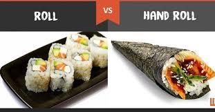 Maki Rolls or Hand Rolls