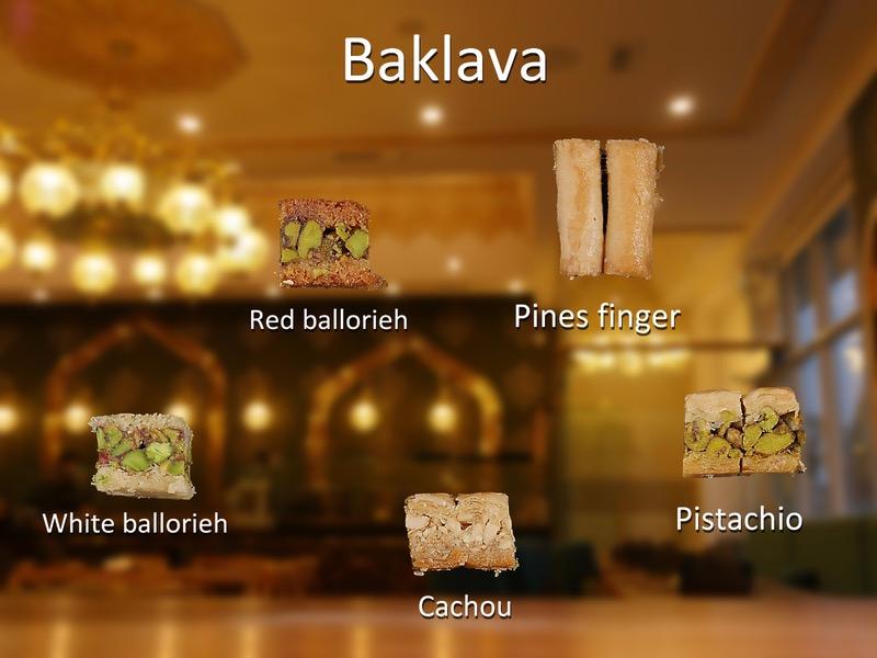 Baklava (4pcs) Image