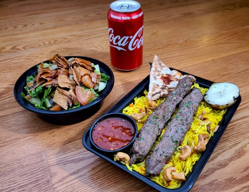 Special Deal: Skewer Kebab w/ Rice & Salad Image